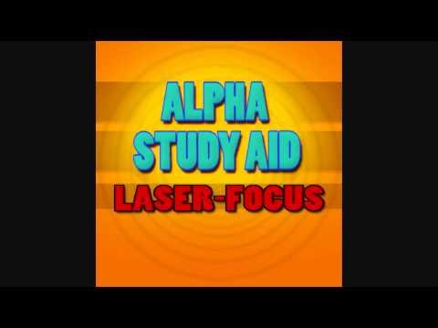 Study Aid 5: 'Laser Focus' - Alpha (10Hz) - Iso-Tone (Procrastinator Eradicator)