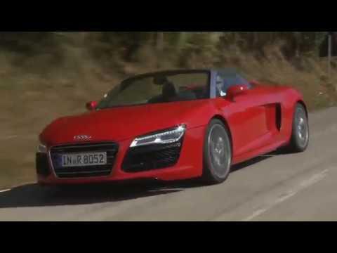 Audi R8 Spyder V10 Driving Rimini