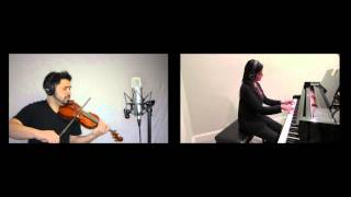John Legend - All Of Me (Violin and Piano Cover by David Wong and Raashi Kulkarni)