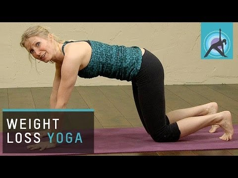 Weight loss Yoga for Beginners --tVXfEStevY
