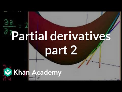 Partial Derivatives 2