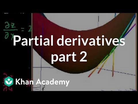 Partial Derivatives 2