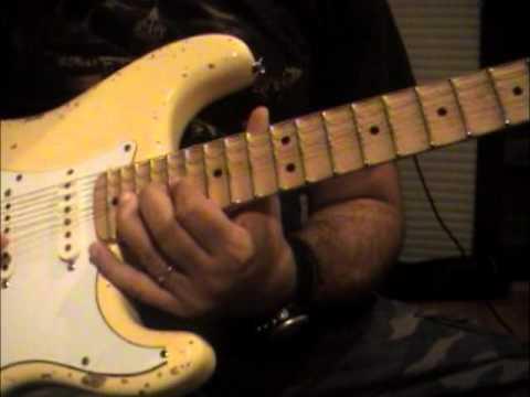 Fender stratocaster YJM relic