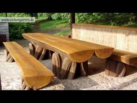 gartenm bel holz skulptur holzarbeiten. Black Bedroom Furniture Sets. Home Design Ideas