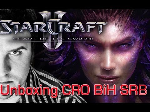 Otpakivanje Starcraft2 &#8211; Heart of the Swarm &#8211; Collectors Edition