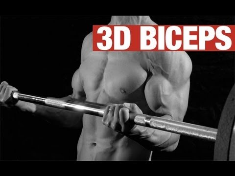 3-D BICEPS EXERCISE - Make Those Biceps &quot;POP&quot; With This 1 Exercise!
