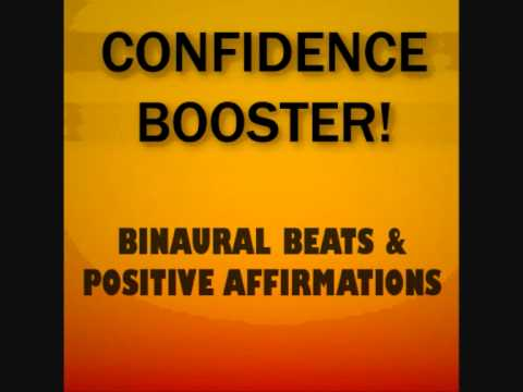 Confidence Booster! Binaural Beats + Positive Affirmations - Reprogram Your Mind