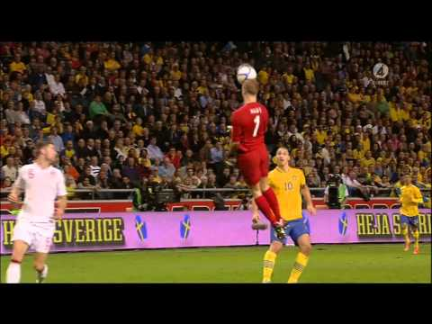 Sweden vs England | 4 - 2 | Ibrahimovic Incredible Goal | 2012-11-14 | SUBTITLES