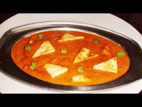 Shahi Paneer - Indian cottage cheese in creamy gravy sauce