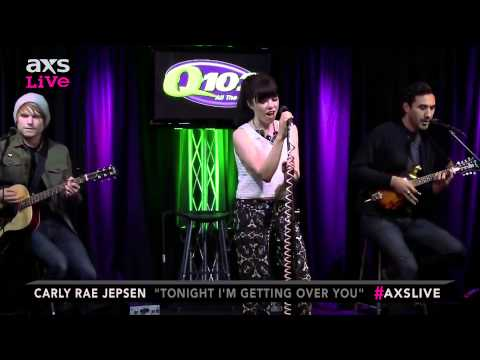 "Carly Rae Jepsen Performs ""Tonight I'm Getting Over You"" on AXS Live"
