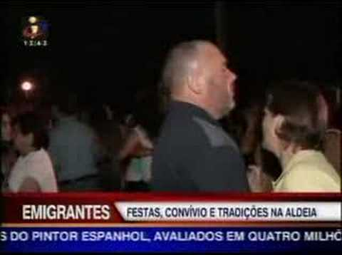 Emigrantes e as festas populares