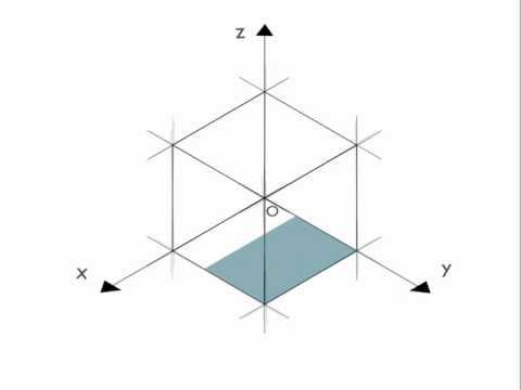 Assonometria Isometrica di un Cubo - Progetto Scolastico