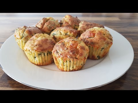Spinach & Cheese Muffins Recipe
