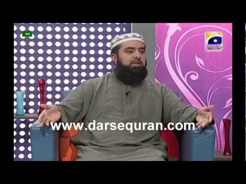 Junaid Jamshed Prog 6 'Haya Alal Falah' With Mufti Muhammad Zubair 30 Jan 2012