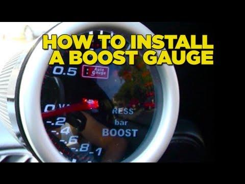 How To Install Boost Gauge DIY