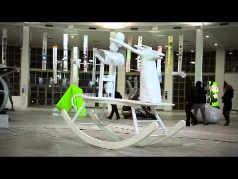 L'Anno Del Coniglio Bianco by Franco Losvizzero 54.Biennale di Venezia Pad.Italia TORINO