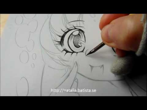 Inking Shojo Manga Eyes with Natalia Batista