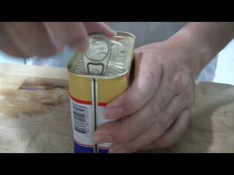 How to prepare Luncheon Meat for Storage/Freezer (no voice)