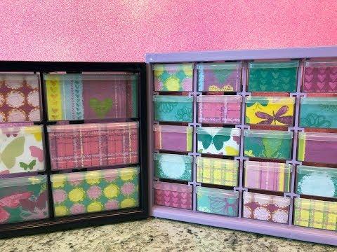 Craft Supply Storage Cabinet