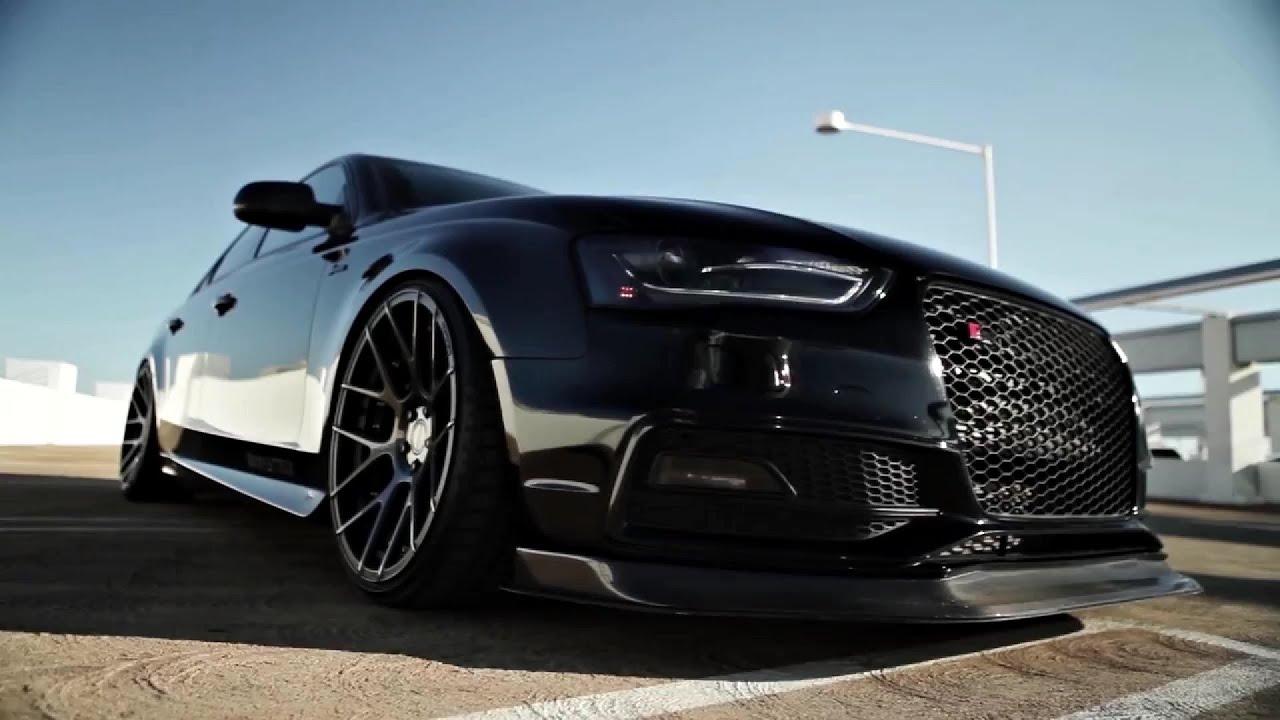 Vader 2014 Audi S4 Stance Sc 8 Wheels Scp Matte Black Clear Brushed Bronze X Armytrix Elmaz Lt