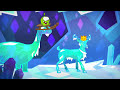 Фрагмент с начала видео - Om Nom Stories: Ice Cave (Episode 33, Cut the Rope: Magic)