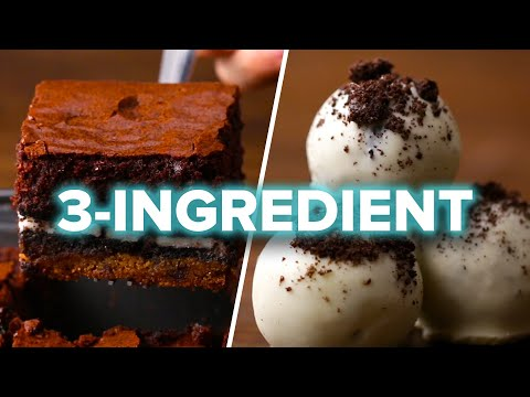 9 Easy 3-Ingredient Desserts