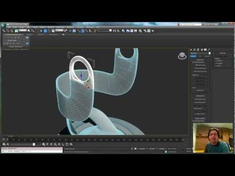 3ds Max Tutorial: Animating Creation in 3ds Max pt2: microphone base