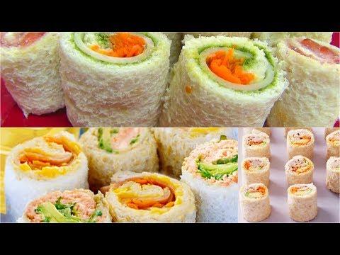 Sandwich Rollups or Pinwheels - Bread Sushi - Kid's Video Recipes - Perfect Summer Recipe