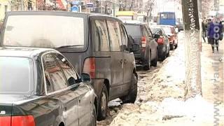 В конце января Житомир щедро присыпало снегом