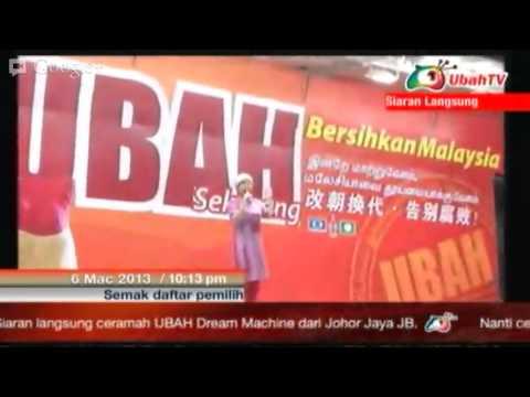 DAP UBAH DREAM MACHINE CERAMAH in Johor Jaya