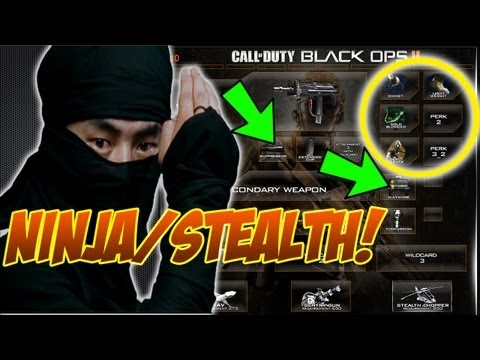 Best Stealth/Ninja Class In Black Ops 2 - BO2 Gameplay Commentary Tips and Tricks Class Setup Guide - unknownplayer03