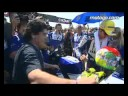 Diego Maradona And Valentino Rossi At The San Marino Gp