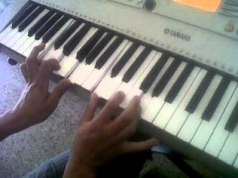 tutorial de piano mereces la gloria (luis fher)