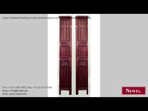 Asian Antique Paneling Indian & Southeast Asian Architectura