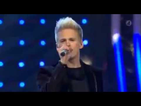 Erik Grönwall (Vinnare av Idol 2009) - Higher! Vinnarlåten Idol 2009 Final Sverige!