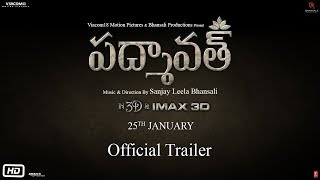 Padmaavat Telugu | Official Trailer