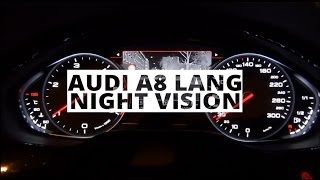 Audi A8 Lang - test systemu Night Vision