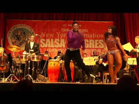 Eddie Torres & Griselle Ponce performing with The Mambo Legends Orchestra @ NY Salsa Congress 2011