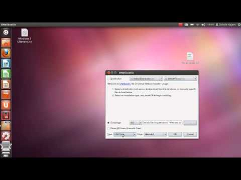 How to make a bootable Windows 7 USB on Ubuntu 11.10/Linux and Dual Boot