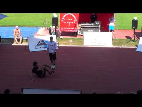 Super Ball 2012 Prague - Double Routine Final - MichRyc &amp; Luki