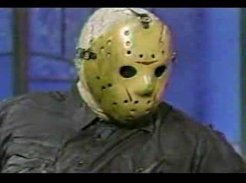 Jason Voorhees on talk show