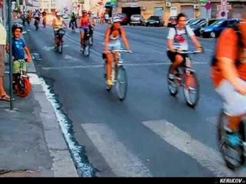 VIDEOCLIP BikeWalk Romania 14 august 2010 - Pentru ca suntem multi!
