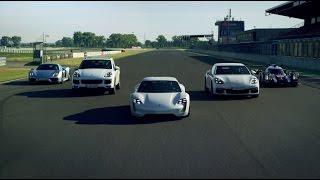 Porsche собрал в одном видео все «зеленые» модели