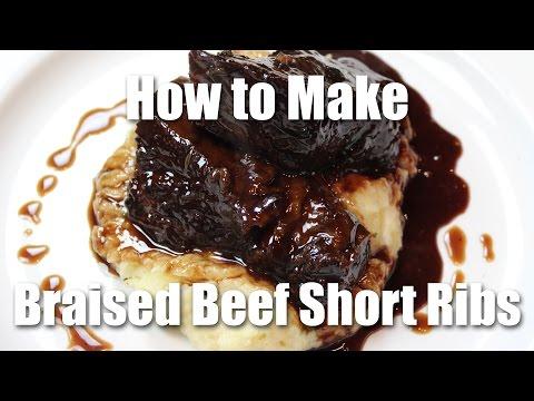 Braised Beef Short Rib Recipe - Restaurant Style