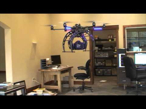 MikroKopter HexaKopter XL with Canon 5Dmk2