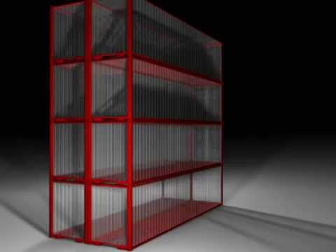 Recycled Shipping Container concept design
