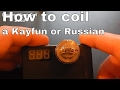 Kayfun/Russian Micro Coil Build Tutorial