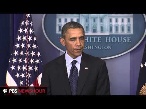 President Obama Addresses the Boston Marathon Explosions,  (West Wing Week)