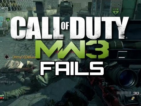 Funny MW3 Fails #1 - Sniper and Ninja Defuse Fails (Funny MW3 Gameplay Moments)