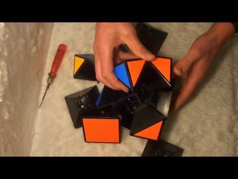 Tony Fisher's Giant Skewb disassembly and assembly
